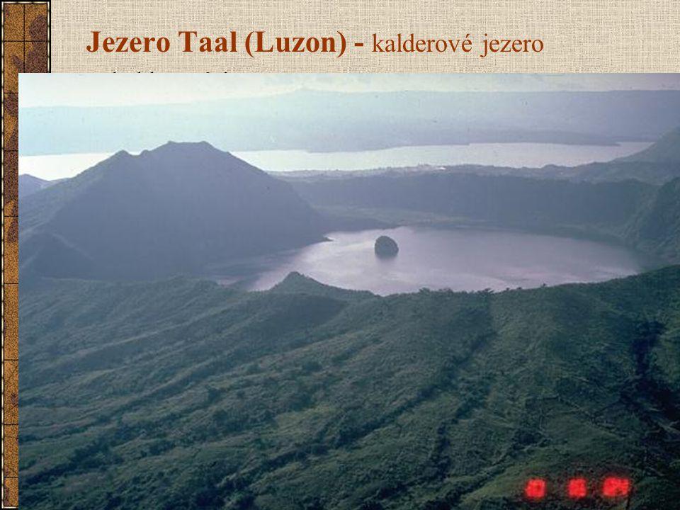 Jezero Taal (Luzon) - kalderové jezero