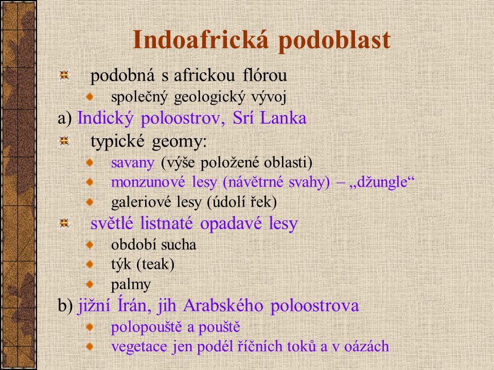 Indoafrická podoblast
