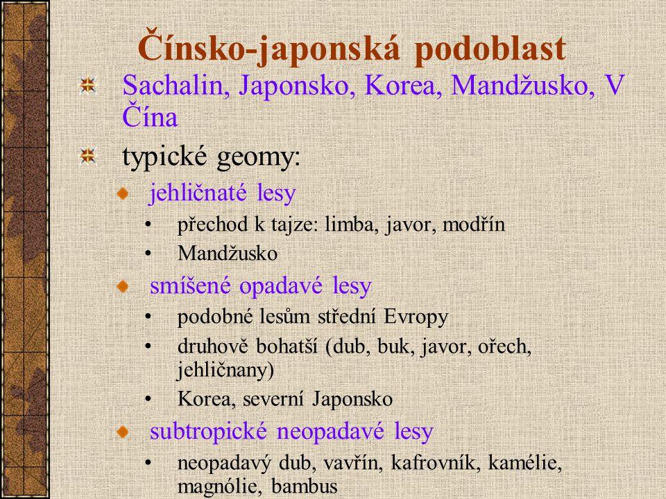 Čínsko-japonská podoblast