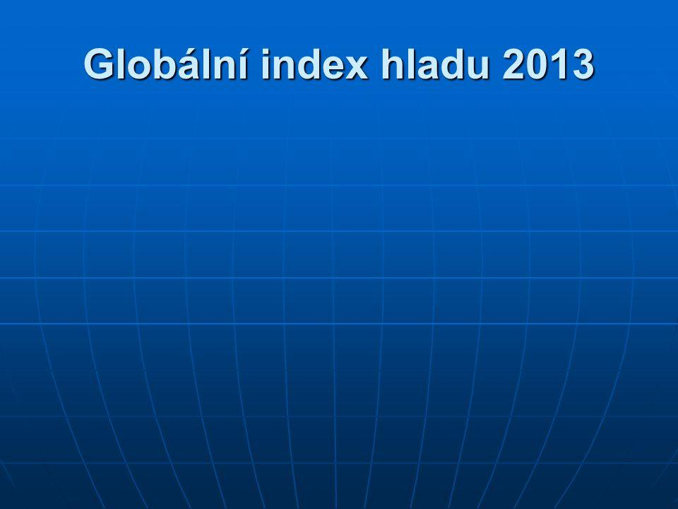 Globální index hladu 2013