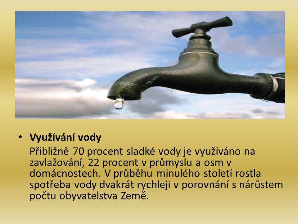 Využívání vody