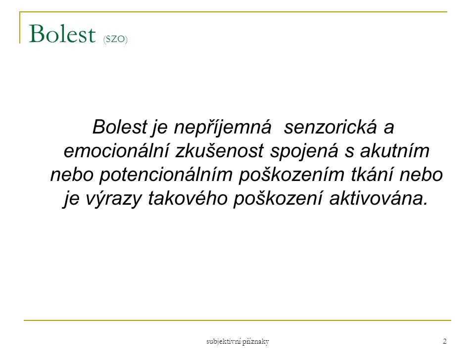 Bolest (SZO)