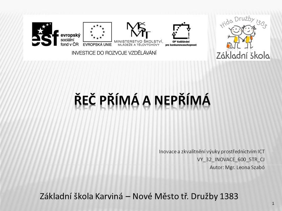 Základní škola Karviná – Nové Město tř. Družby 1383