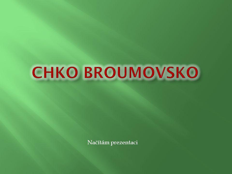 CHKO Broumovsko Načítám prezentaci