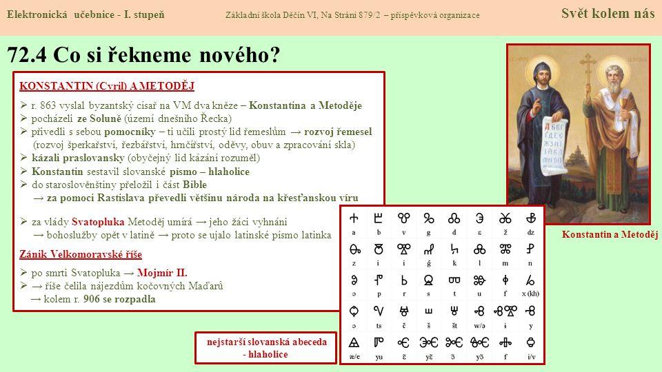 nejstarší slovanská abeceda