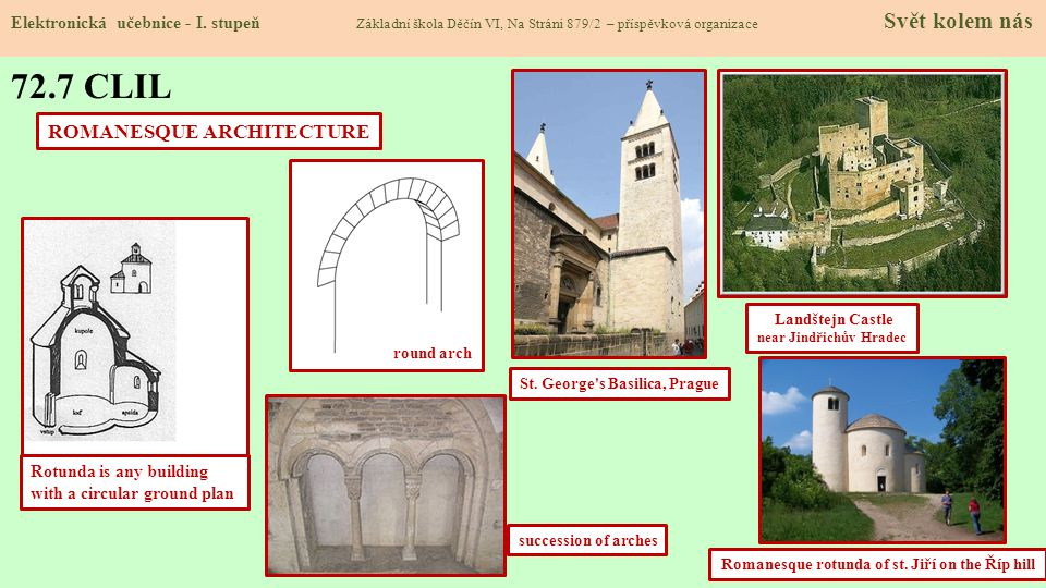 72.7 CLIL ROMANESQUE ARCHITECTURE