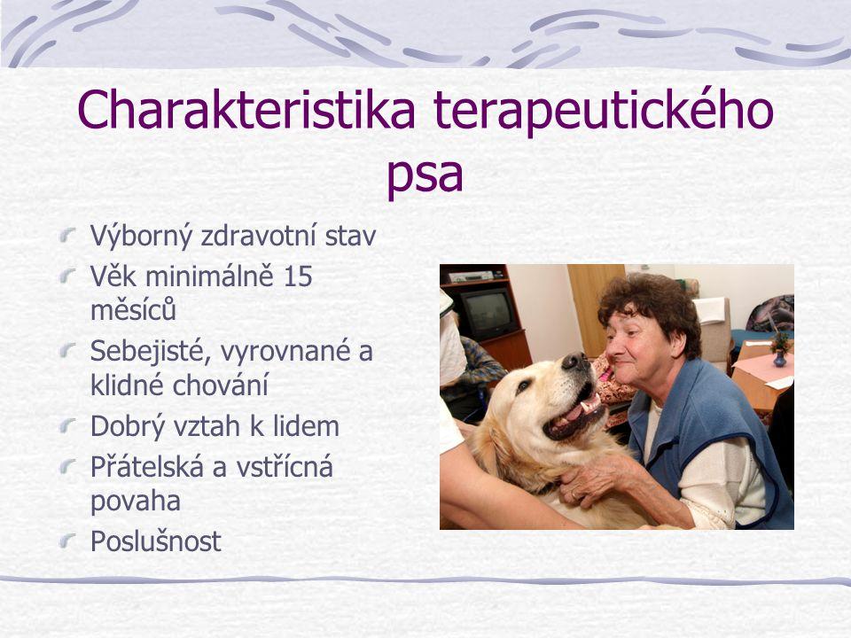 Charakteristika terapeutického psa
