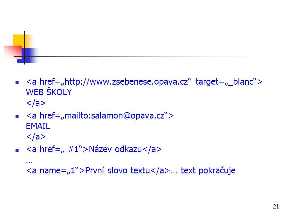 "<a href=""http://www. zsebenese. opava"
