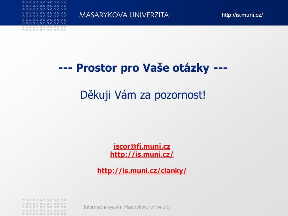iscor@fi.muni.cz http://is.muni.cz/