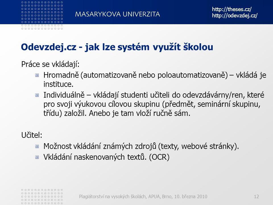 Odevzdej.cz - jak lze systém využít školou
