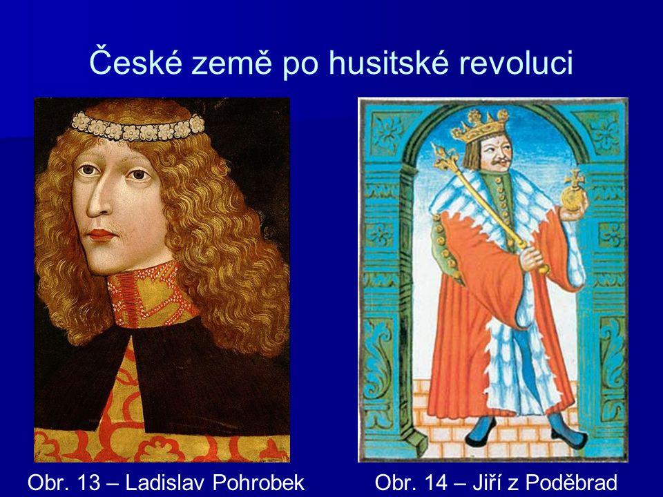 České země po husitské revoluci