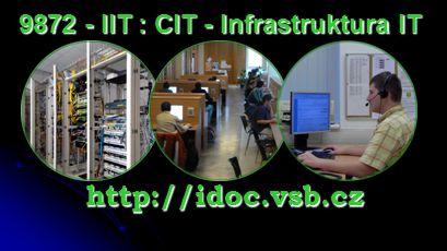 9872 - IIT : CIT - Infrastruktura IT