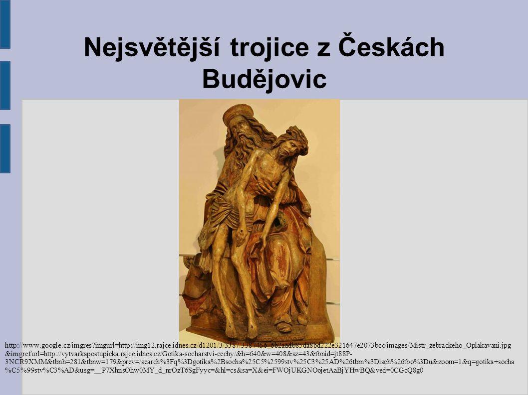 Nejsvětější trojice z Českách Budějovic
