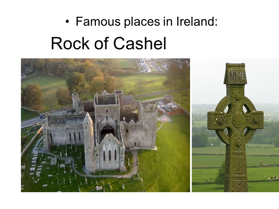 Famous places in Ireland: