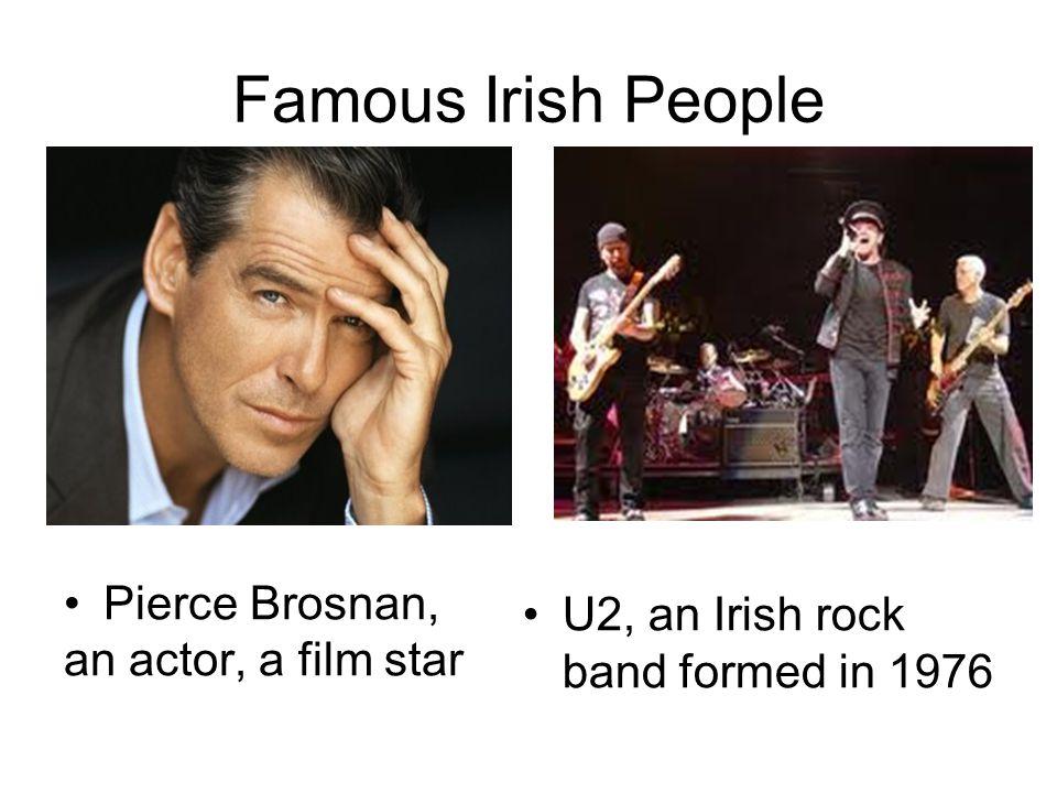Famous Irish People Pierce Brosnan, an actor, a film star