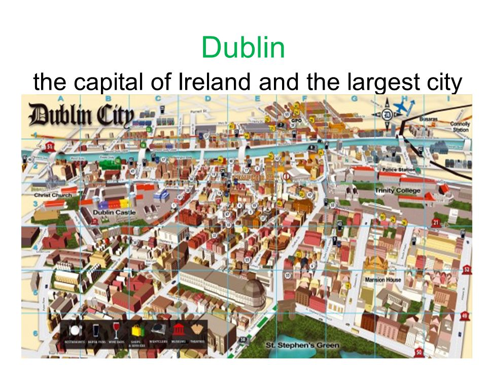 the capital of Ireland and the largest city