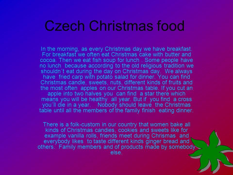 Czech Christmas food
