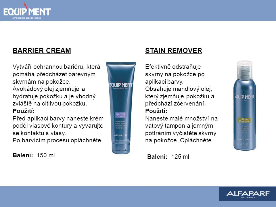 BARRIER CREAM STAIN REMOVER Balení: 125 ml