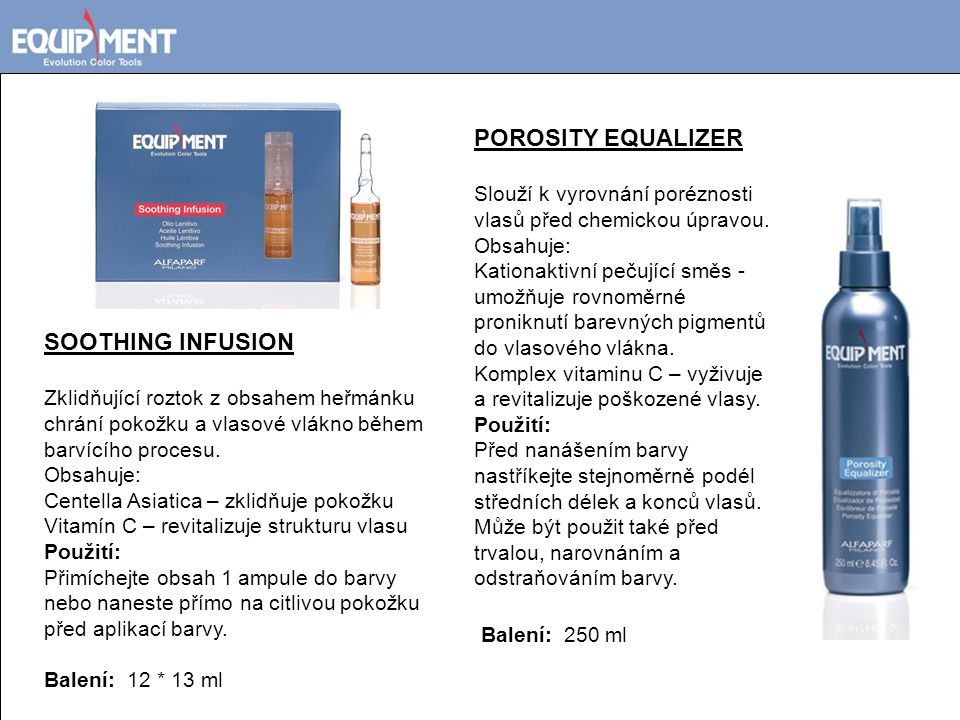 POROSITY EQUALIZER SOOTHING INFUSION Balení: 250 ml
