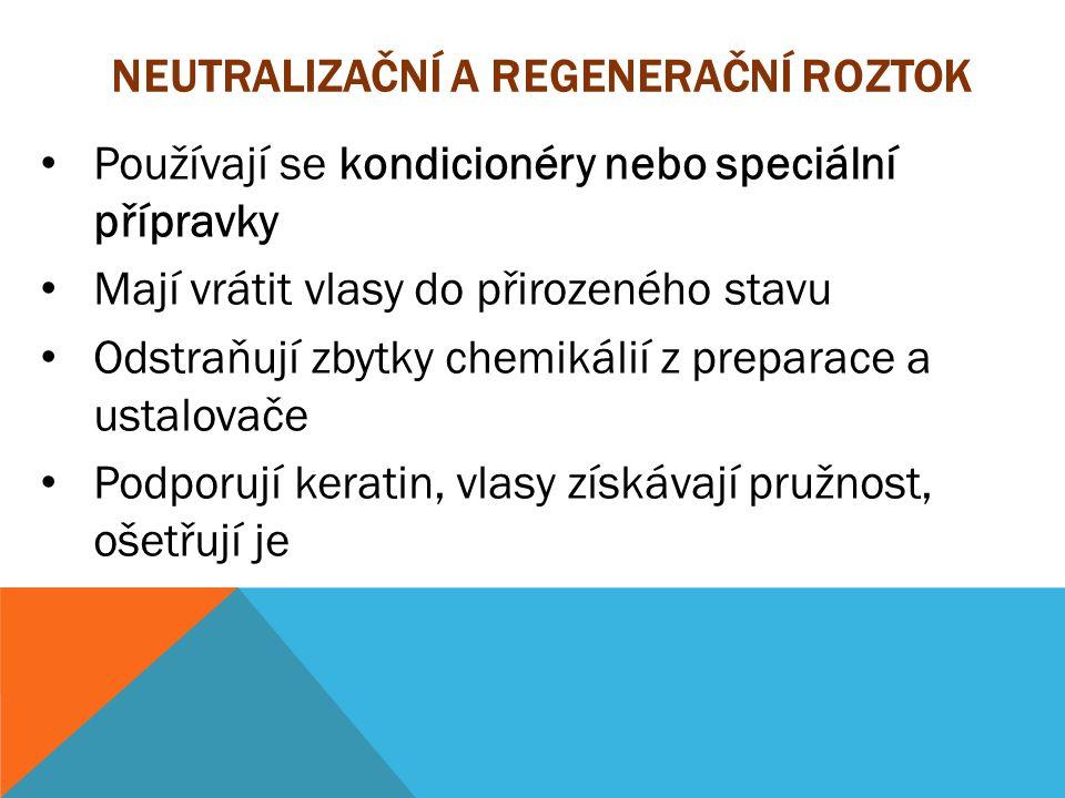 Neutralizační a regenerační roztok