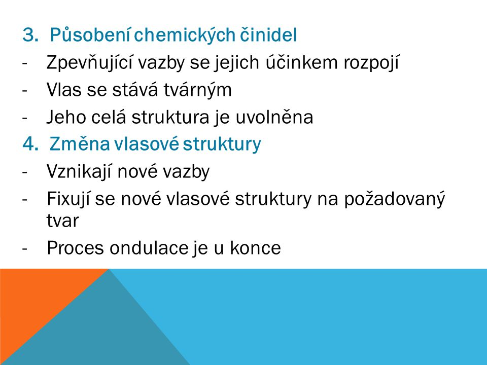 Působení chemických činidel