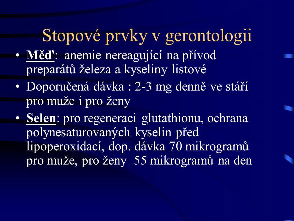 Stopové prvky v gerontologii