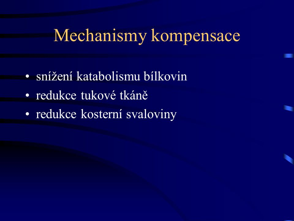 Mechanismy kompensace