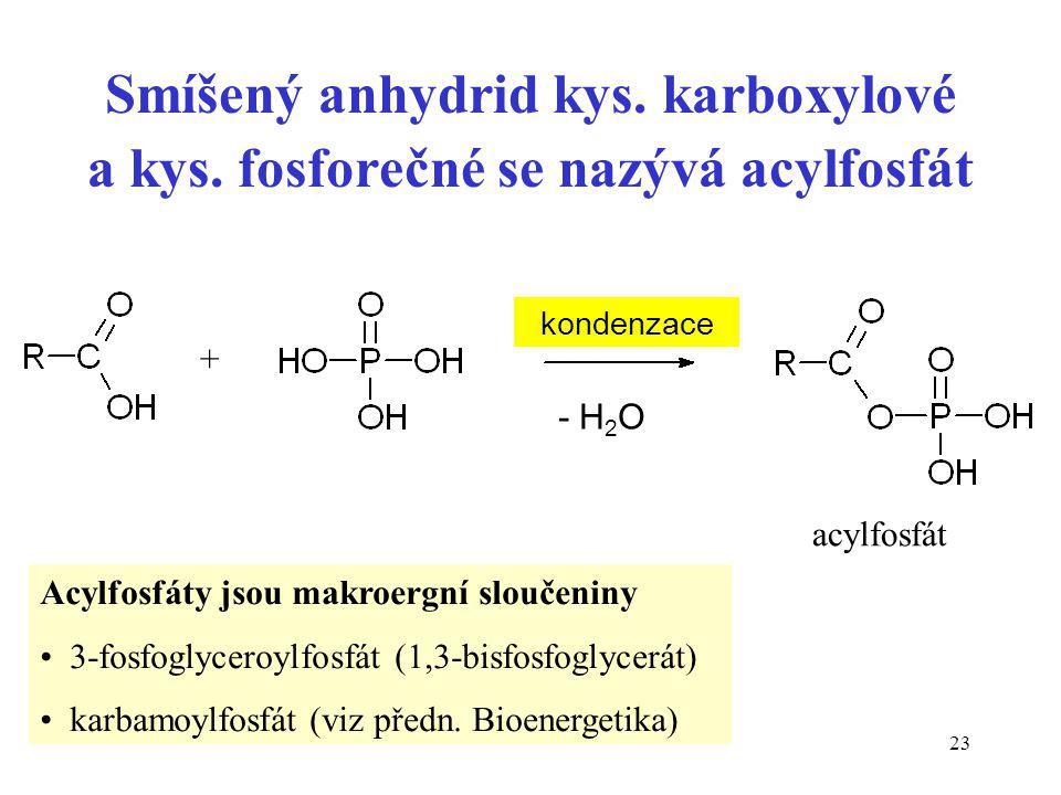Smíšený anhydrid kys. karboxylové a kys