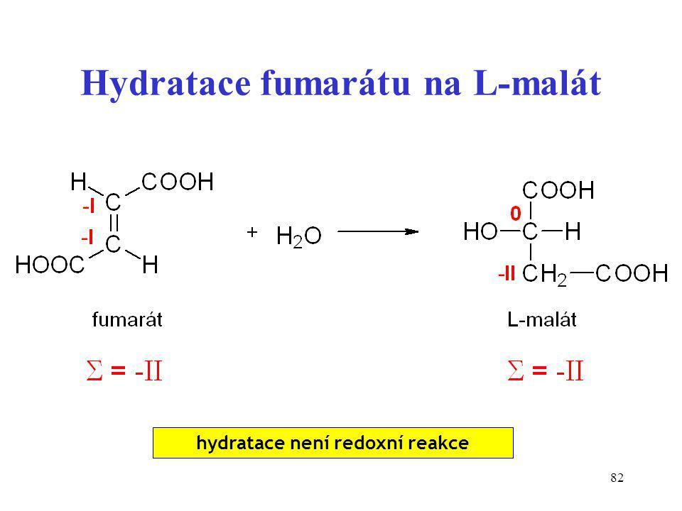 Hydratace fumarátu na L-malát