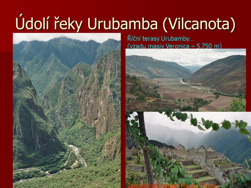 Údolí řeky Urubamba (Vilcanota)