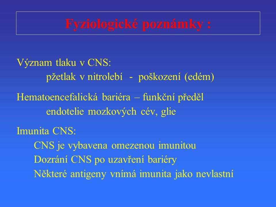 Fyziologické poznámky :