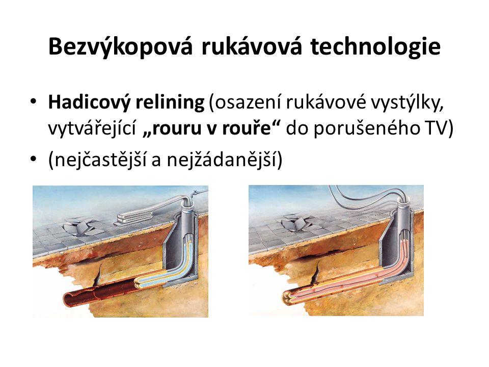 Bezvýkopová rukávová technologie