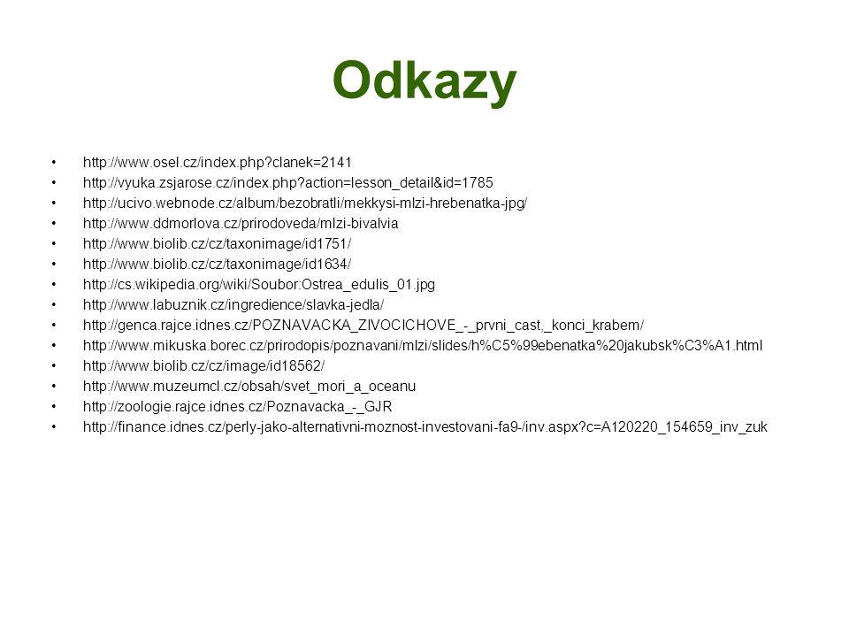 Odkazy http://www.osel.cz/index.php clanek=2141