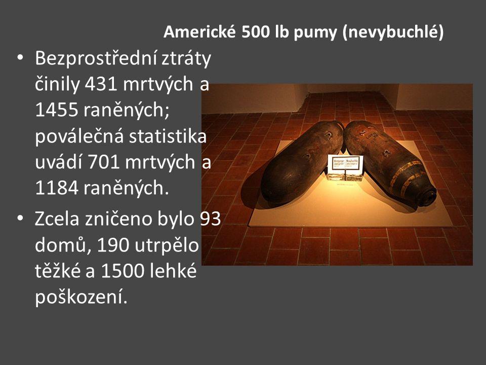Americké 500 lb pumy (nevybuchlé)
