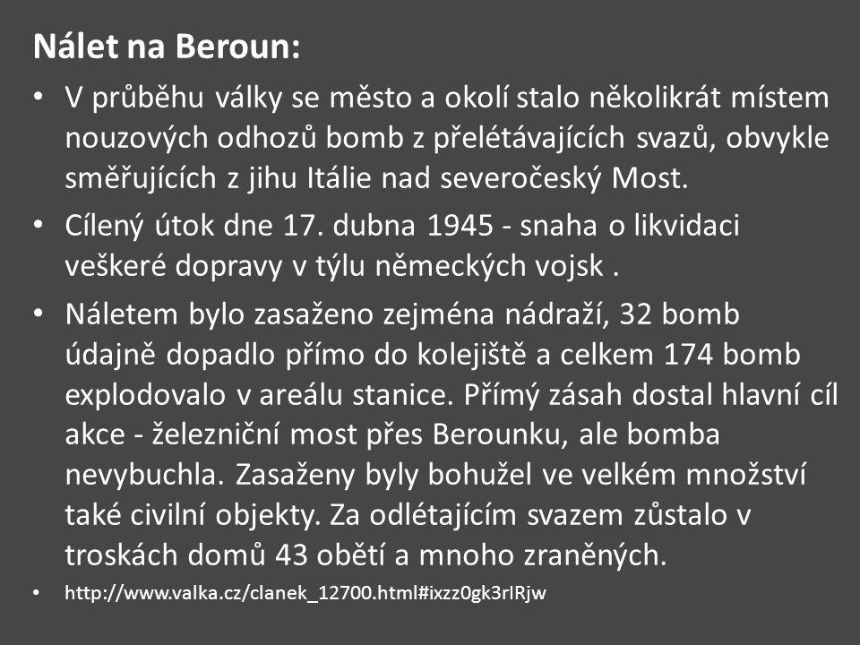 Nálet na Beroun: