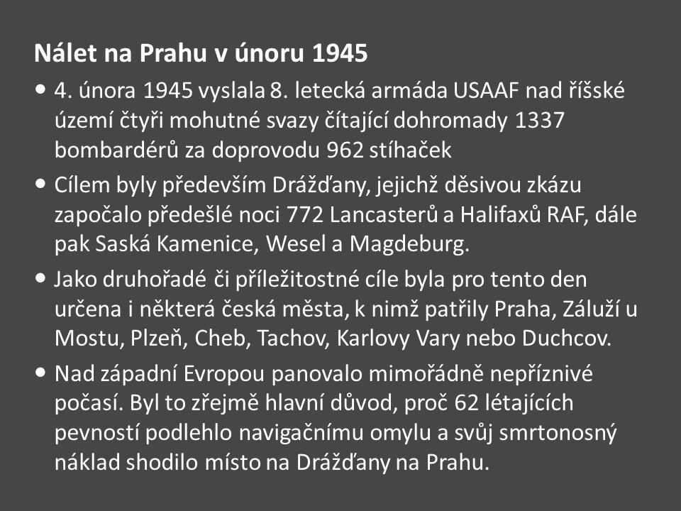 Nálet na Prahu v únoru 1945