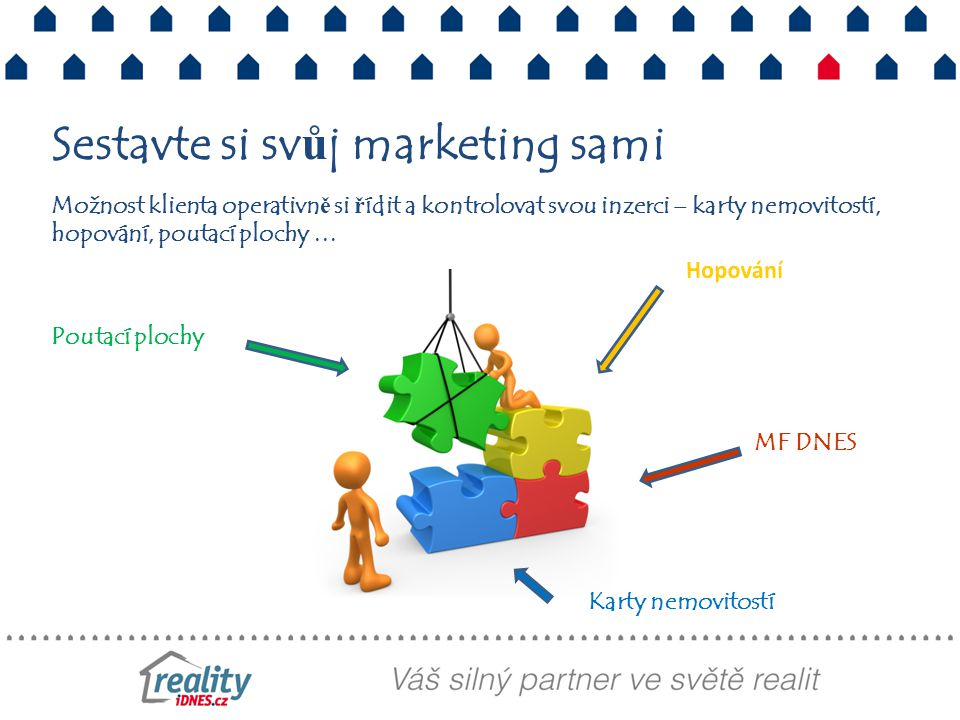 Sestavte si svůj marketing sami