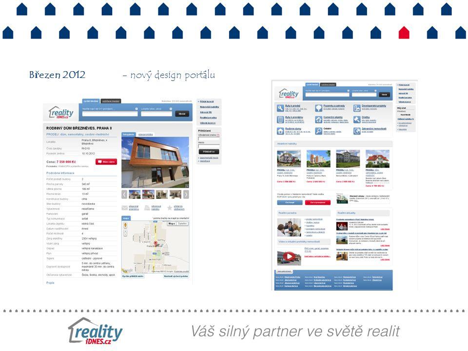 Březen 2012 - nový design portálu