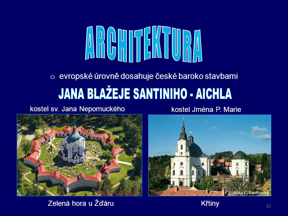 JANA BLAŽEJE SANTINIHO - AICHLA