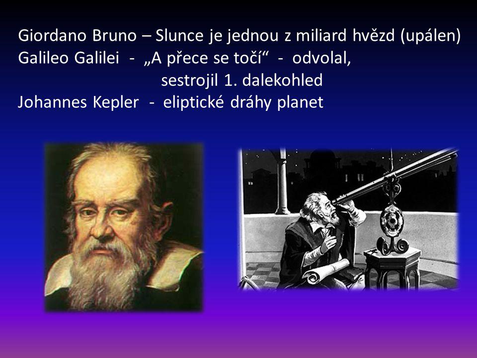 Giordano Bruno – Slunce je jednou z miliard hvězd (upálen)