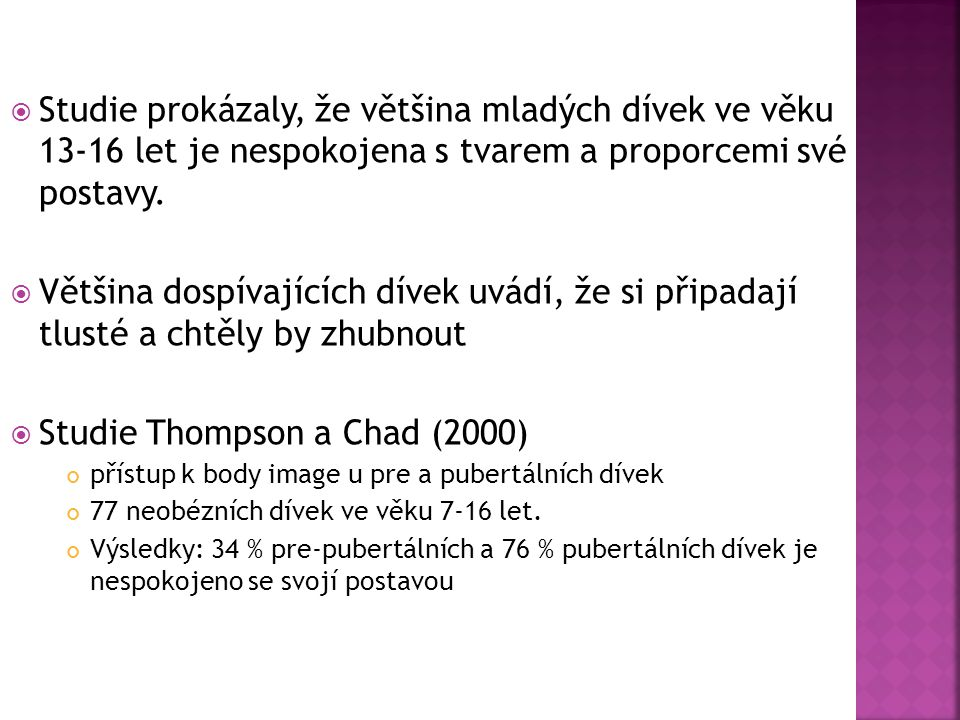 Studie Thompson a Chad (2000)