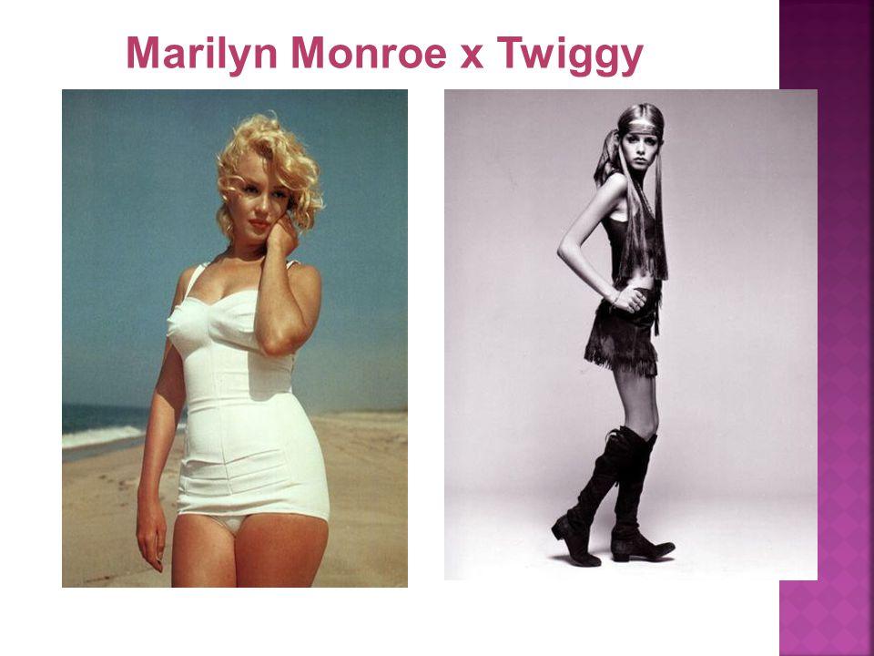 Marilyn Monroe x Twiggy