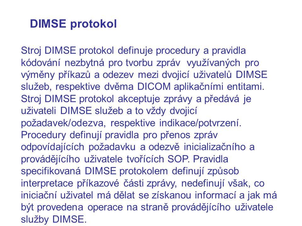 DIMSE protokol