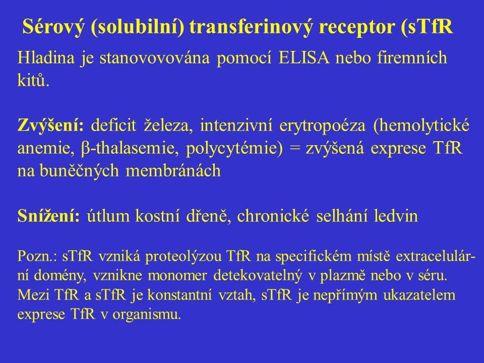 Sérový (solubilní) transferinový receptor (sTfR