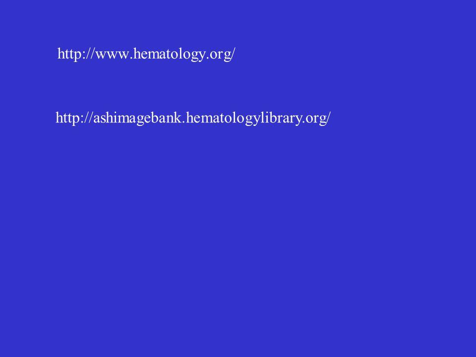 http://www.hematology.org/ http://ashimagebank.hematologylibrary.org/