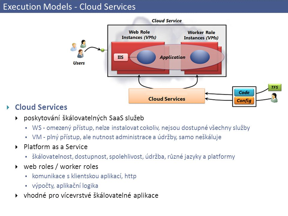 Execution Models - Cloud Services