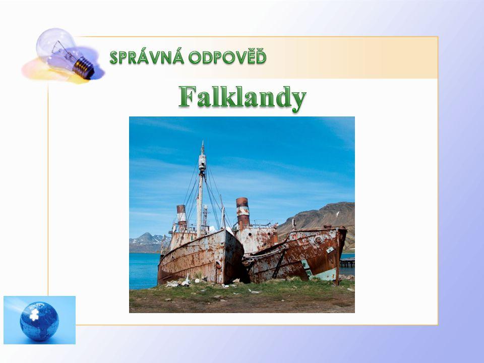 Falklandy SPRÁVNÁ ODPOVĚĎ