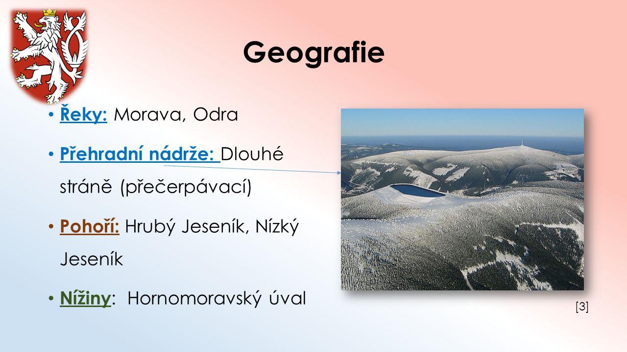 Geografie Řeky: Morava, Odra