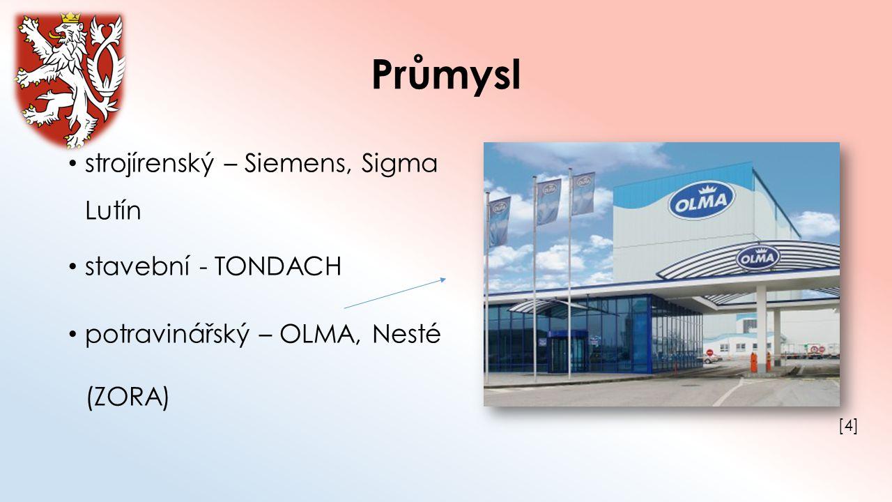 Průmysl strojírenský – Siemens, Sigma Lutín stavební - TONDACH