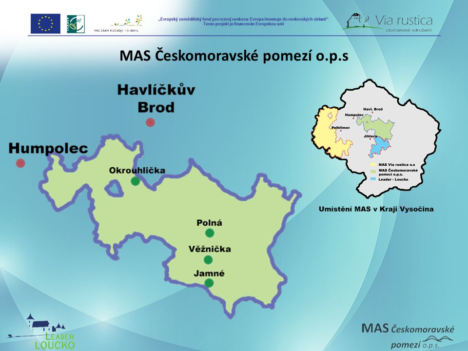 MAS Českomoravské pomezí o.p.s